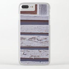 Paint Chips Clear iPhone Case