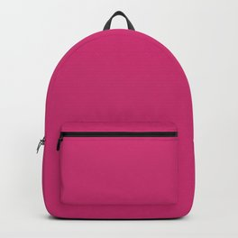 Fuchsia Pink - Solid Color Collection Backpack