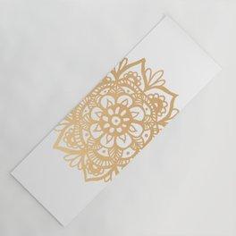 Gold Mandala Yoga Mat