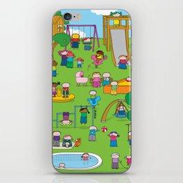 Playground  XL iPhone Skin