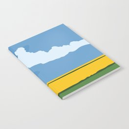 Wide Open Spaces Notebook