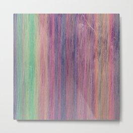 String Rainbow Metal Print