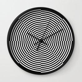 Optical Illusion #1 Wall Clock
