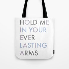Vampire Weekend - HOLD ME IN YOUR EVERLASTING ARMS Tote Bag