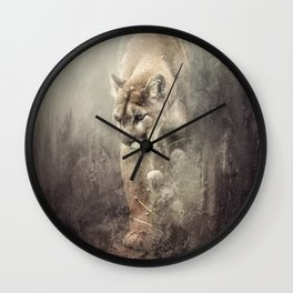 Moving Forward Wall Clock