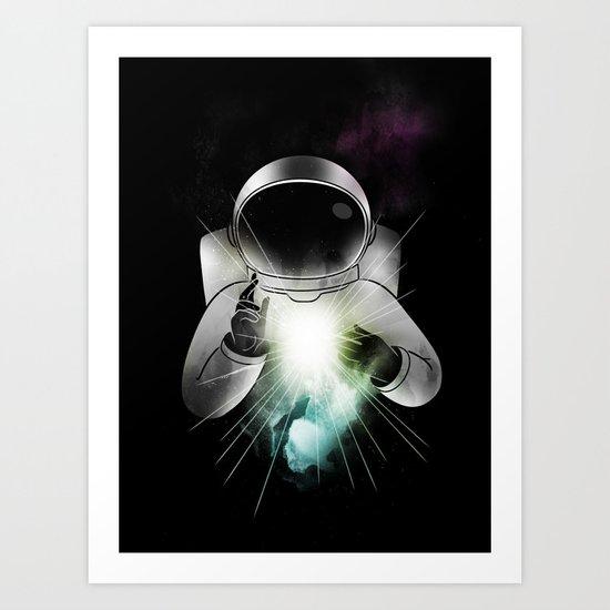 Being of Light Art Print