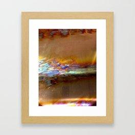 copper blaze Framed Art Print