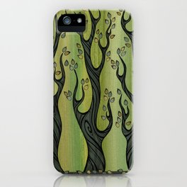 3 Trees iPhone Case