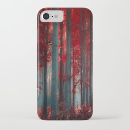 Magical trees iPhone Case