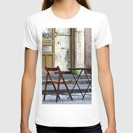 Coffee time in Catania on the Isle of Sicily T-shirt