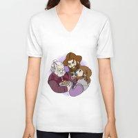 nori V-neck T-shirts featuring Dori, Nori and Ori  by BlueSparkle