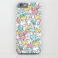 Cute kitties. Cats pattern. iPhone 6s Slim Case