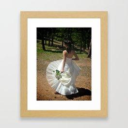 Wedding Flare | Bride Framed Art Print