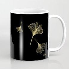 Ginkgo Black Gold Coffee Mug