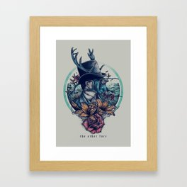 The Other Face Framed Art Print