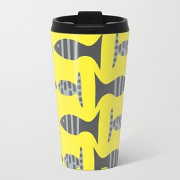 grey little fishy's Travel Mug