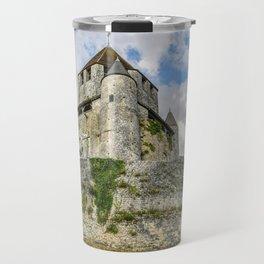 Medieval Castle on a Hill Travel Mug
