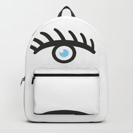 Girl eyes #society6 #decor #buyart #artprint Backpack