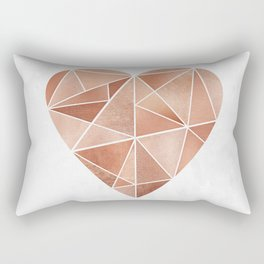 Mosaic Heart Rectangular Pillow