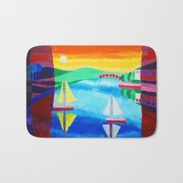 Day and Night Bath Mat