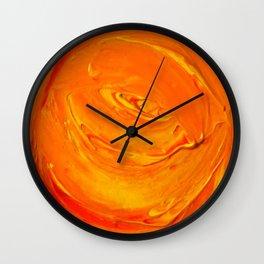 Lapeda Textile Art - 5 Wall Clock