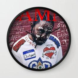 Kendrick Lamar - DAMN. Alternate Album Artwork Cover Wall Clock