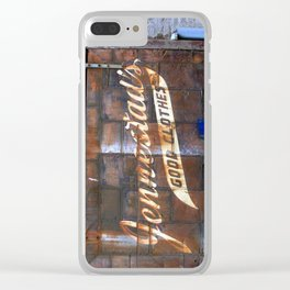 Good Clothes Clear iPhone Case