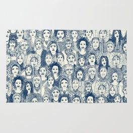 WOMEN OF THE WORLD BLUE Rug
