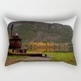 Old Stove Rectangular Pillow