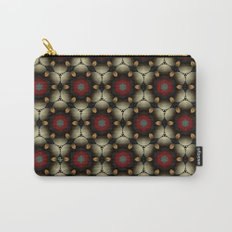 Metallic Deco Little Leaves Carry-All Pouch