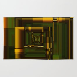 Corridors of Gold Rug