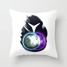 Metroid Prime 2: Echoes Throw Pillow