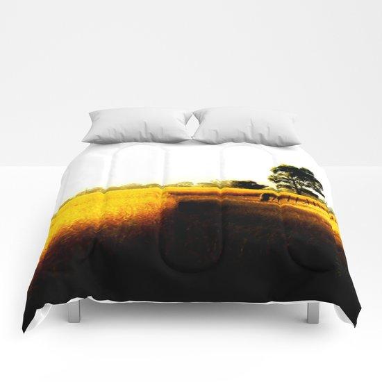 Wheat Fields Comforters