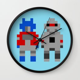 Optimus Prime and Megatron / Transformers Wall Clock