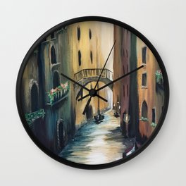 Where My Heart Roams Wall Clock