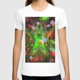 Bioluminescent Plankton and Jellyfish T-shirt