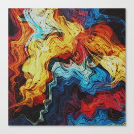 Liquid Canvas Print