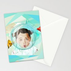 Fish Girl Stationery Cards