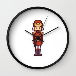 King Nutcraker Wall Clock