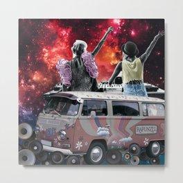 Space DJs Metal Print