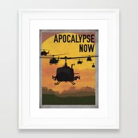 apocalypse now Framed Art Prints featuring Apocalypse Now by Brian Wilcox