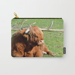 Resting Ox Carry-All Pouch