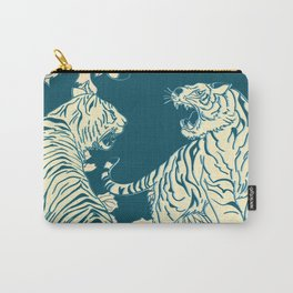 floral tigers Carry-All Pouch