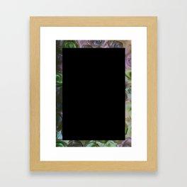 Love yourself first Framed Art Print