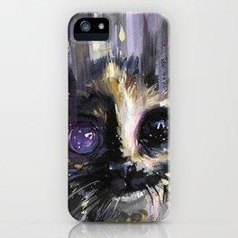 Dual Cat iPhone Case