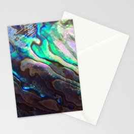 Pearlescent Abalone Shell Stationery Cards