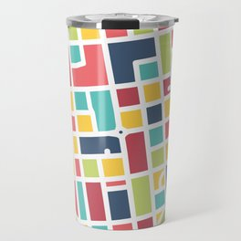 Lancaster, PA Block Map Travel Mug