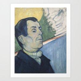 Paul Gauguin - Portrait of a Man (1888) Art Print