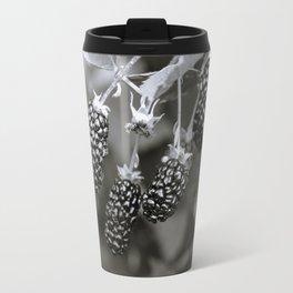 Blackberries // Black & White Travel Mug