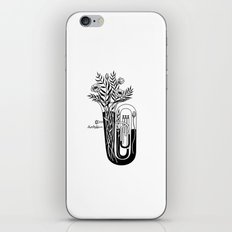 the tuba iPhone & iPod Skin